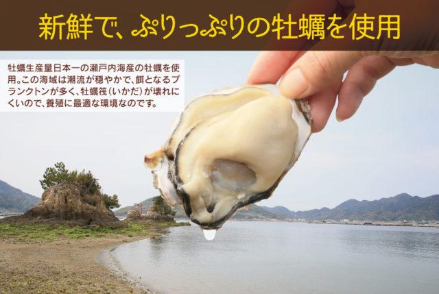 瀬戸内海産牡蠣